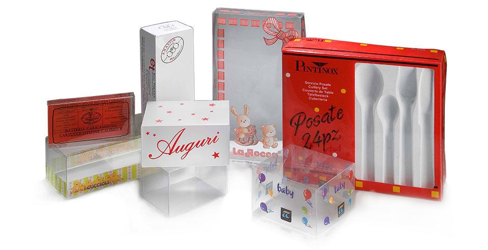 Scatole personalizzate in materiale plastico per confezionamento prodotti | Implast Srl
