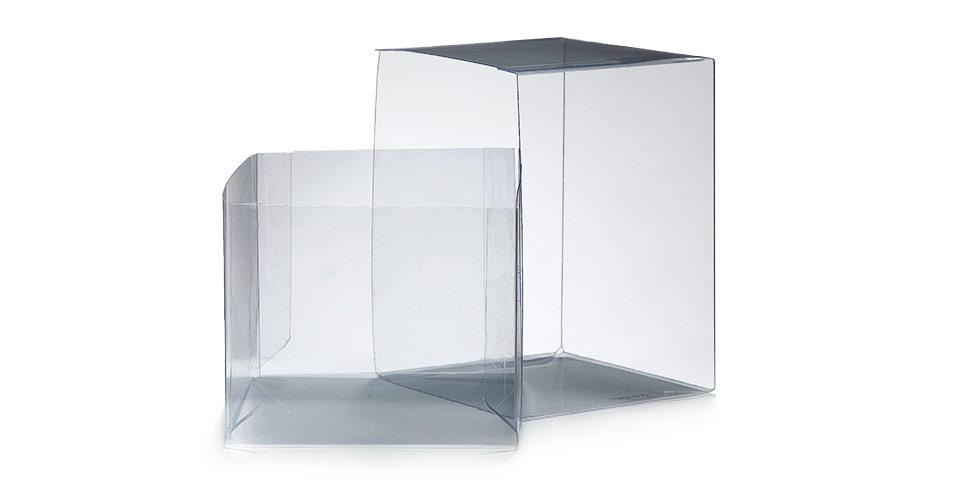 Scatole trasparenti in PVC per imballaggio | Implast Srl